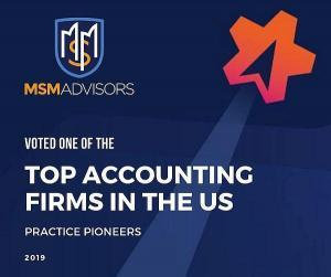Voted one of the top accounting firms in the US!