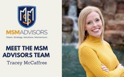 Meet the MSM Advisors Team – Tracey McCaffree