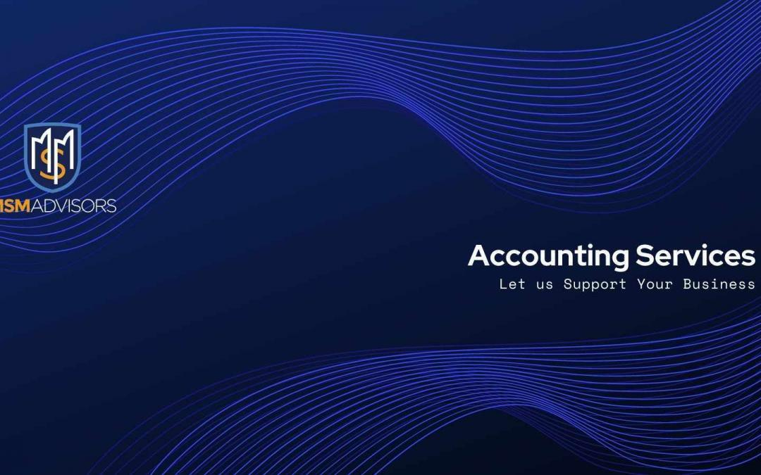 Accounting Services: Let us Support Your Business